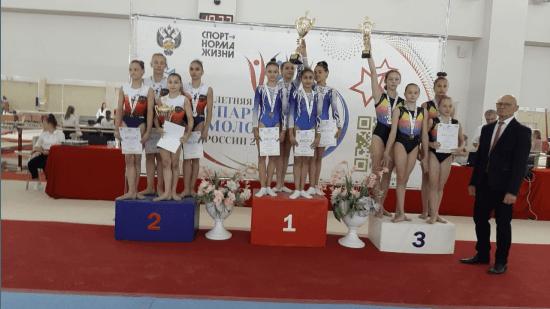 Гимнастки из Башкирии - бронзовые призеры всероссийской Спартакиады