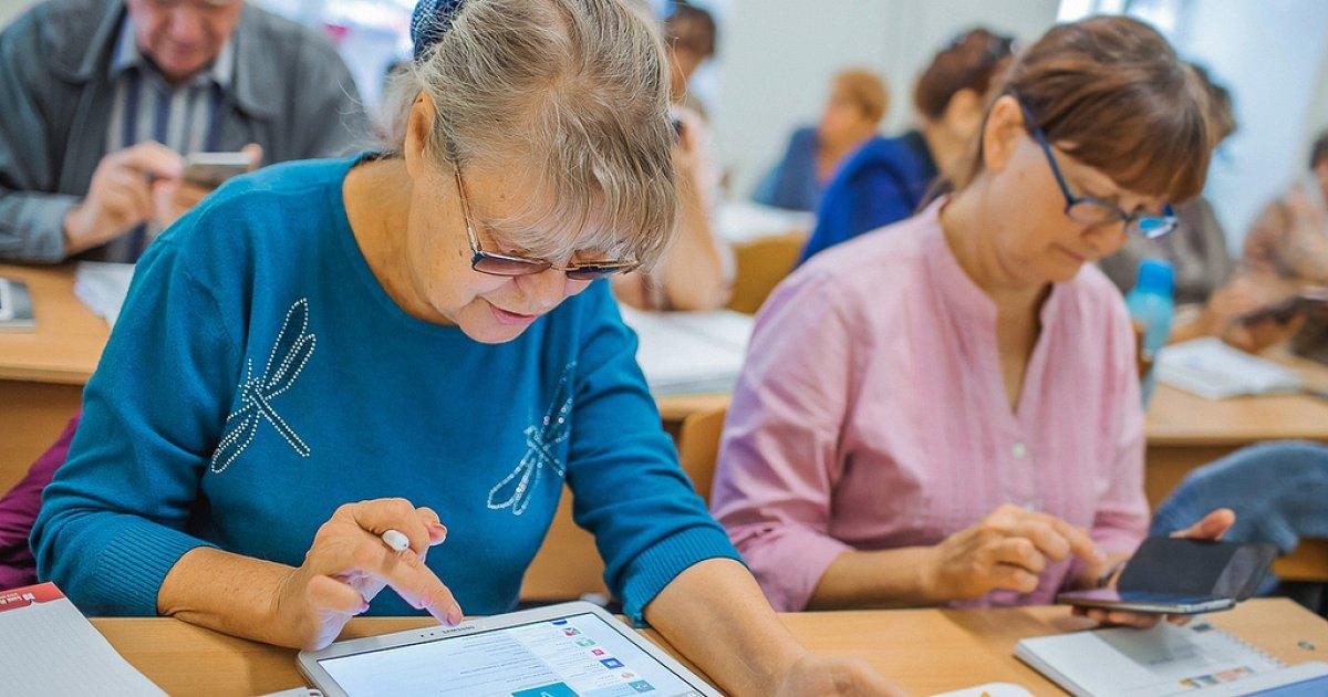 50岁以上的滨海边疆区居民将接受免费职业教育